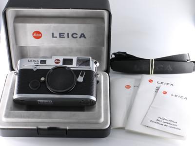 徕卡 LEICA M6 TTL 0.58 后期大盘 银色机身