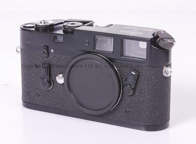 【收藏品】徕卡 M4 1969年产原装黑漆机身 #HK7101