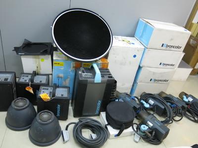 极新布朗broncolor Scoro S电箱+外拍电箱+灯头五只+附件 (已售)