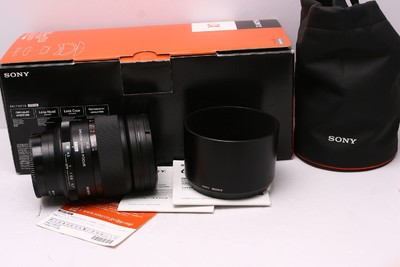 索尼 135/2.8 STF 索尼135/2.8 sony 135/2.8 柔焦 带包装