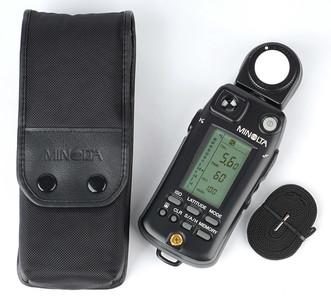 极新 美能达Minolta Flash Meter VI 6型 入射反射点旗舰级测光表