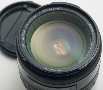 SONY索尼Minolta美能达AF Zoom 24-85 F3.5-4.5全幅自动镜头788