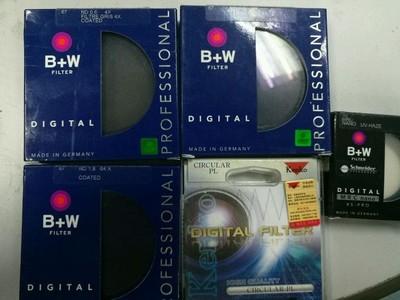 B+W 67mm ND106 减光镜