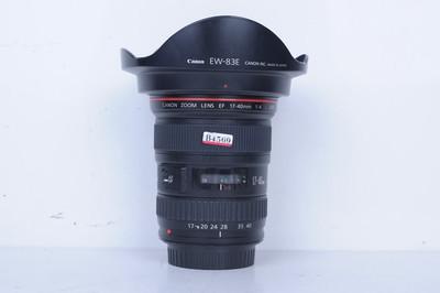 97新二手 Canon佳能 17-40/4 L USM 广角镜头(B4569)【京】