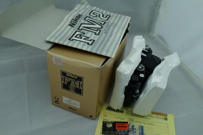收藏级全套未使用品Nikon FM2机身