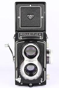 禄来双反 Rolleiflex T 3.5T 德产120胶片相机 蔡司Tessar镜头