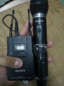 索尼出品 urx-p2 utx-h2 无线话筒与接收机全套装备