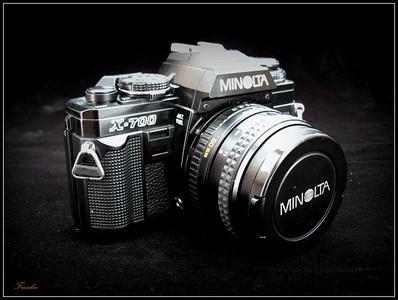 【美能达】Minolta X-700/50mm-1:1.7
