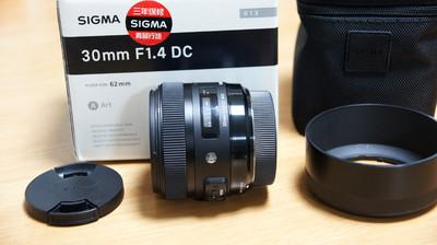 适马 30mm f/1.4 EX DC HSM Art (索尼口)(配件包装齐全)