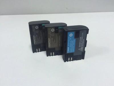 低价出品胜LP-E6电池2块充电器一个