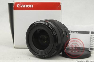 佳能 EF 28mm f/2.8(28/2.8)全副广角定焦/箱说全