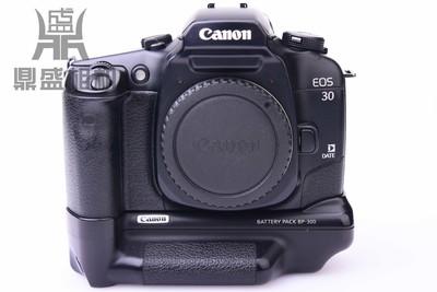 佳能EOS 30胶卷相机带手柄 成色不错 功能正常 无拆修 过卷正常