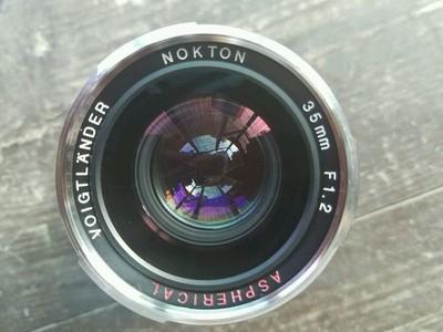福伦达 Nokton 35mm f/1.2   II代 送bw uv镜,微距转接环