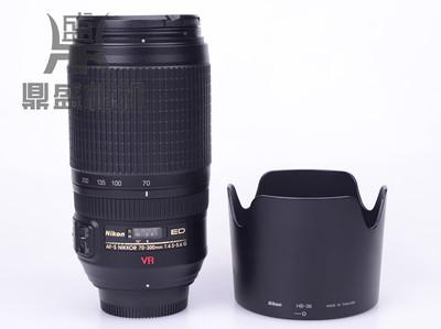 尼康70-300VR防抖长焦镜头 成色很新 功能正常 无拆修 可换70-200