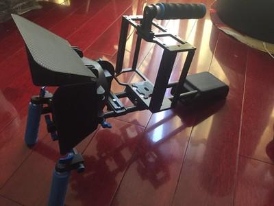 单反摄影套件 专业GH4 A7S兔笼套件 专业微电影器材