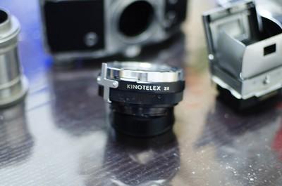 九成新到九五成新德国KINOTELEX 2X增距镜,倍增镜,近摄圈