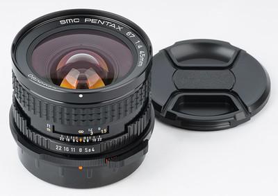 极新 宾得 6x7 67 67II 45f4 SMC Pentax 45mm/f4 新款超广角镜头