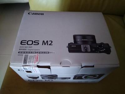 佳能 EOS M2 双镜头 1800 只用了3次