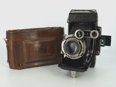 蔡司ZEISS IKON超级Ikonta 6x9 皮腔折叠相机