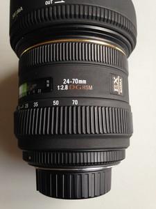 适马 24-70mm f/2.8 EX DG MACRO(尼康口)