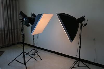 金贝摄影灯400W 3套灯 98成新转让