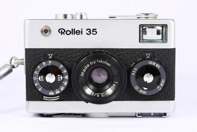 禄来 ROLLEI 35 银色 135胶卷旁轴相机 蔡司 Tessar 萌物