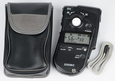 世光 SEKONIC L-408 入射反射点测光一体式专业测光表