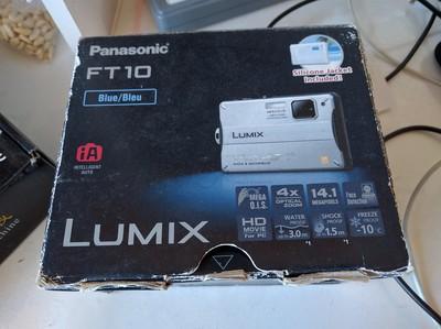 松下 FT10 蓝色防水相机