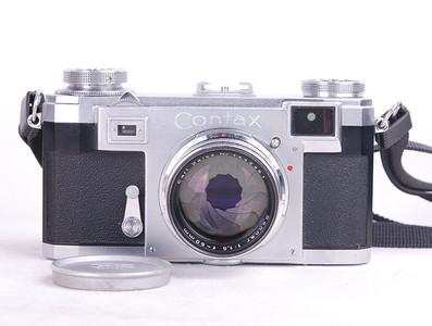 特价德国蔡司伊康 Contax IIa + 50/1.5 #HK7160