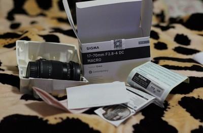 适马 17-70mm f/2.8-4 DC Macro OS HSM