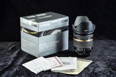 腾龙 SP AF 17-50mm f/2.8 XR Di II VC(B005)尼康NII卡口