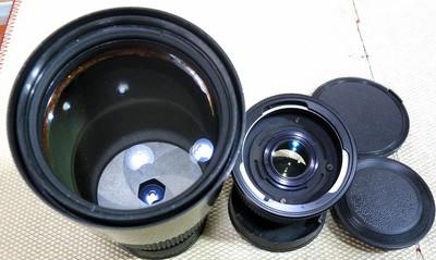 潘太康/基辅60/66用俄罗斯MC 250/3.5镜头带2倍增倍镜(P6口)