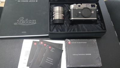 徕卡 LEICA M7+50/1.4 钛板 纪念套机