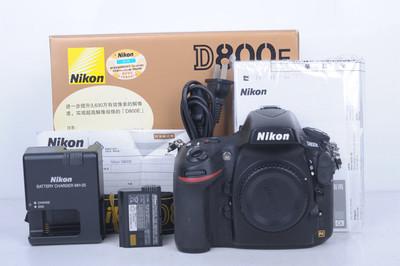 92新二手Nikon尼康 D800E 单机 快门18300多次(B4863)【京】