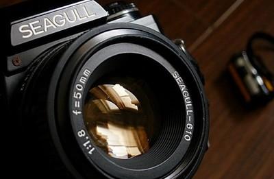 海鸥标准镜头
