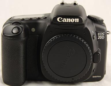 96新 二手Canon/佳能EOS 20D单机身 (1511)