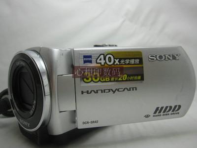 索尼 SR42E30g硬盘摄像机