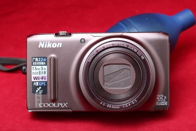 Nikon/尼康 COOLPIX S9500 22倍长焦 1800万像素 实物拍摄带包装