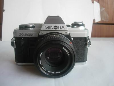 很新美能达X300相机带50mmf1.7镜头
