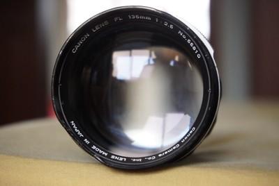 佳能 canon fl 135mm f/2.5