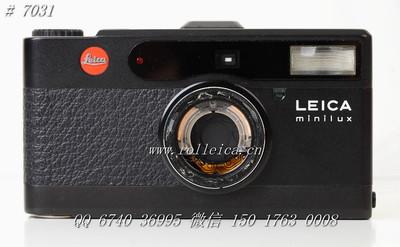 (7031) Minilux 黑钛限量版机身(零件) ¥550