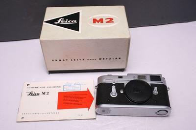徕卡M2 徕卡 M2 LEICA M2 莱卡M2 完美品 L封完好 带对号包装盒