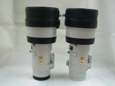 99新美能达AF-APO 300/4G 白色长焦镜头