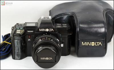 特价 美能达a7000机身+AF35-70/4镜头(带微距)套机
