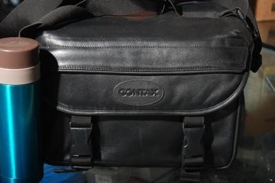 95新康泰时原厂皮质摄影包(欢迎议价,支持交换)