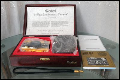 Rollei 35S 24K黄金机:禄来成立60周年纪念版