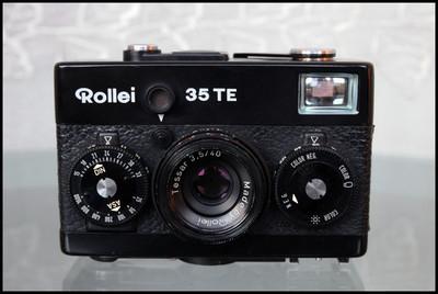 Rollei 35TE,测光准确、灵敏可用