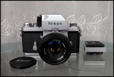 Nikon 大F+FTN顶+腰平+50/1.4,收藏级!