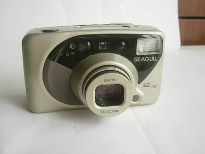 很新少见海鸥袖珍相机最高型号SZ120D相机,送皮套,收藏使用