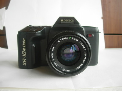 很新理光XR--10M经典相机带原配35--70mm镜头